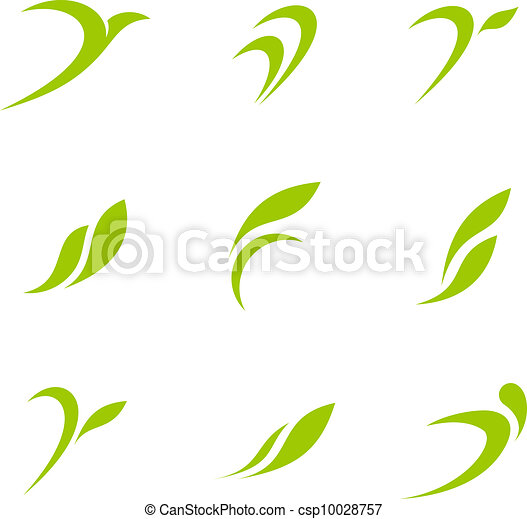 Logo Eco Green - csp10028757
