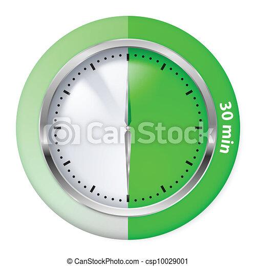 Timer icon - csp10029001