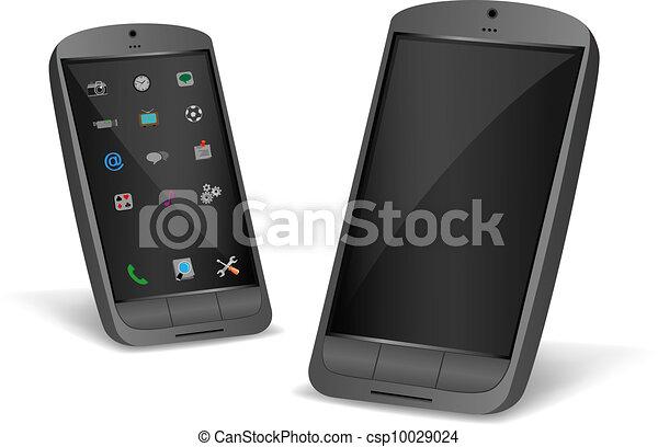 black smartphone - csp10029024