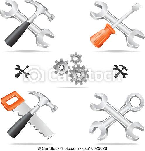 tools icon set - csp10029028