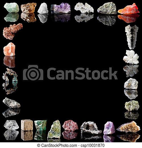 minerales, metales, piedras preciosas - csp10031870