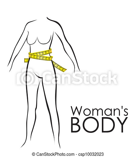 Measures in perfect female body  - csp10032023