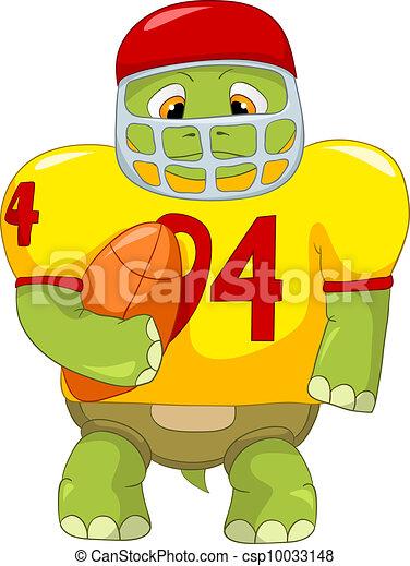 Vecteur eps de rigolote tortue rugby dessin anim - Image tortue rigolote ...