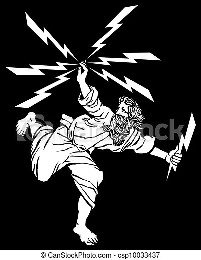 Greek God Zeus - csp10033437