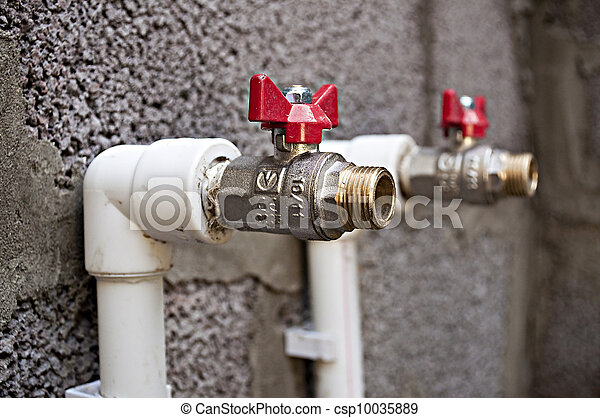 Building and plumbing. - csp10035889