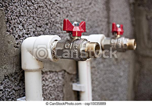 Building and plumbing. - csp10035889
