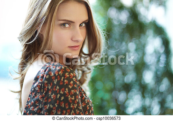 Tempting beauty - csp10036573
