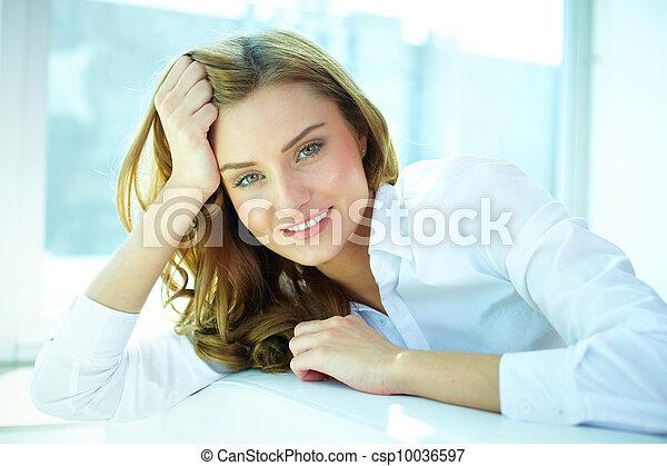 Girl at leisure - csp10036597