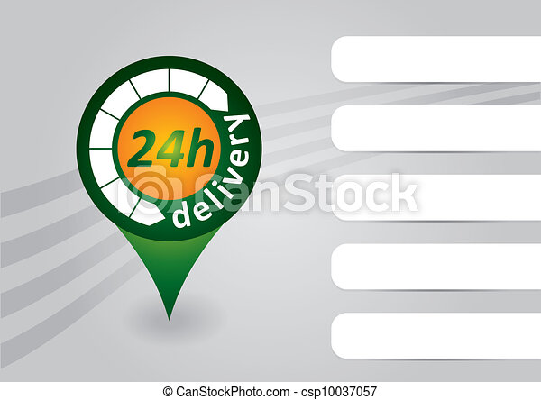 24h delivery tag - csp10037057