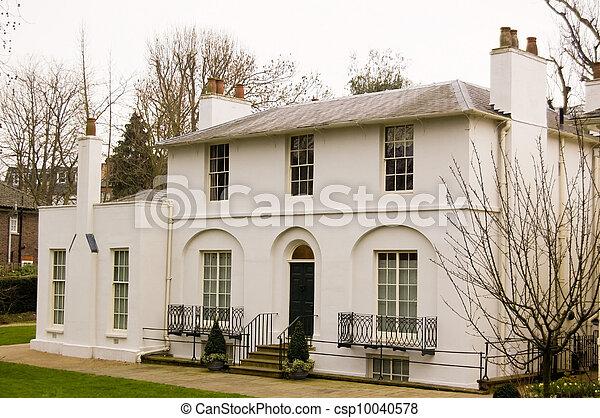Historic Home of Poet John Keats - csp10040578
