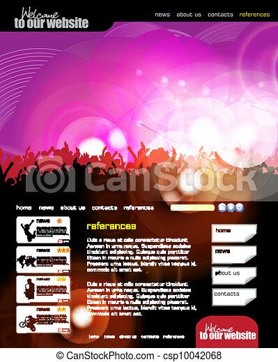 Web design template - csp10042068
