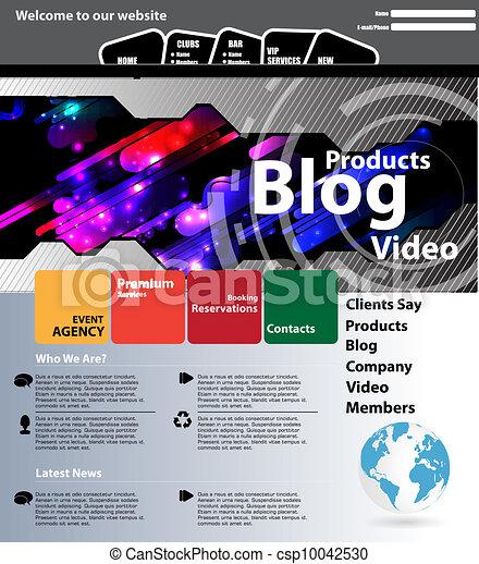 Web design template - csp10042530