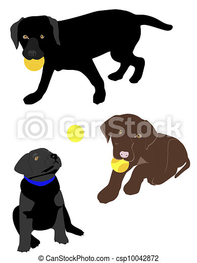 Black lab Clip Art Vector Graphics. 3,292 Black lab EPS clipart ...