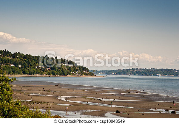 View from Discovery Park - csp10043549