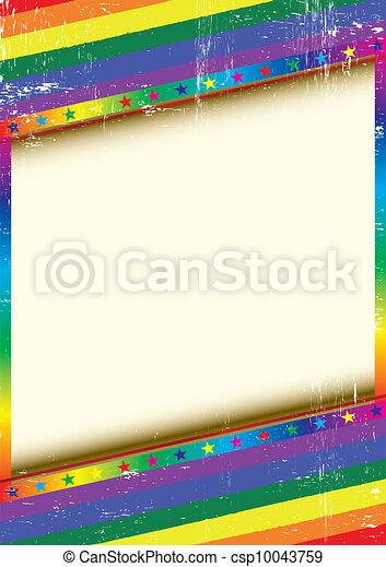 Gay frame with a texture - csp10043759