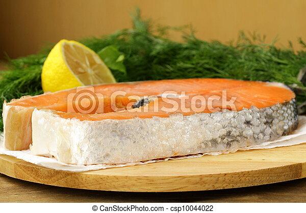red delicatessen  fish  salmon - csp10044022