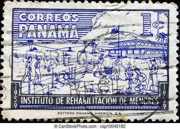 Youth Rehabilitation Institute, Children on Farm - csp10045182