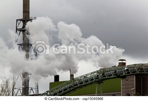 industrial pollution - csp10045966