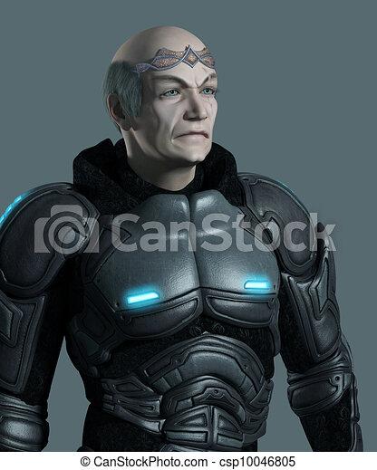 Space Marine Commander Portrait - csp10046805