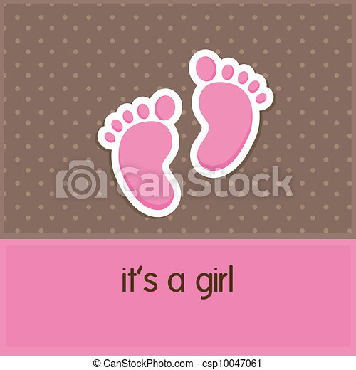 Baby foot print pink background Clip Art Vector Graphics. 141 Baby ...