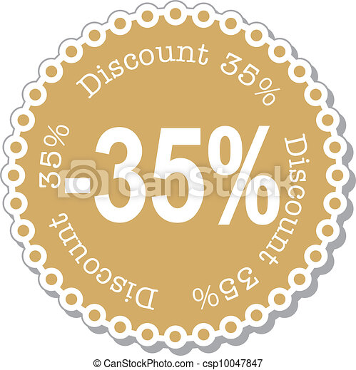 Discount thirty five percent - csp10047847