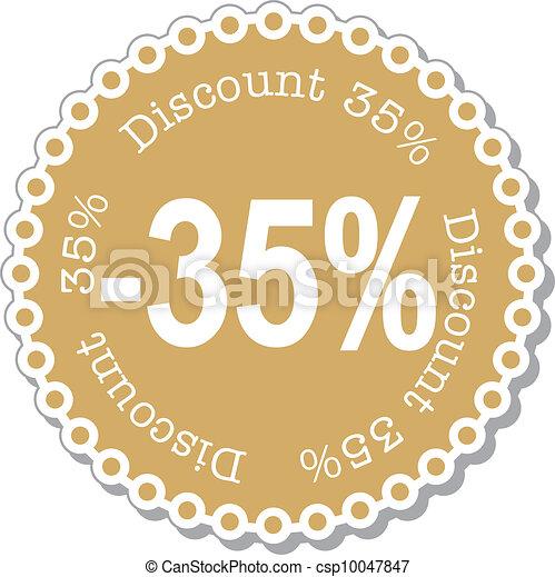 Discount thirty five percent - csp10047847