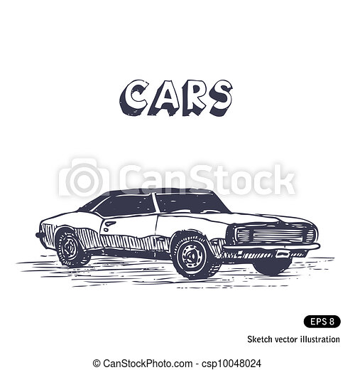 Old muscle car - csp10048024