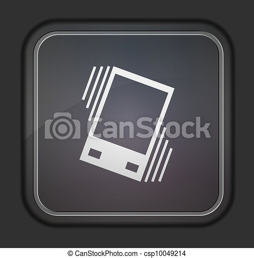 Vector version. Vibration icon. Eps 10 illustration. Easy to edit - csp10049214