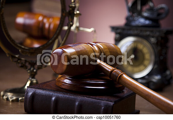 Law and justice concept  - csp10051760