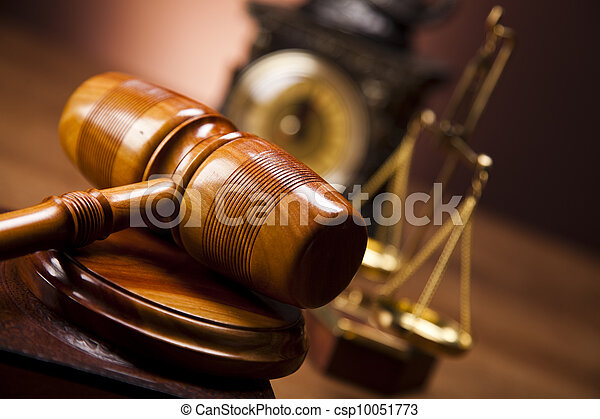Law and justice concept  - csp10051773