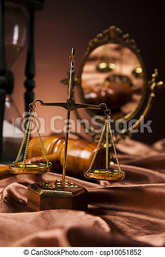 Law and justice concept  - csp10051852