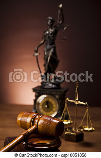 Law and justice concept - csp10051858