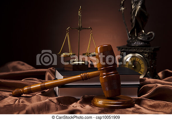 Law and justice concept - csp10051909