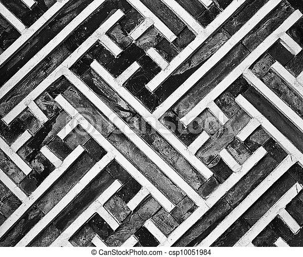 bilder von wand muster geometrisch a anteil von der csp10051984 suchen sie stock. Black Bedroom Furniture Sets. Home Design Ideas
