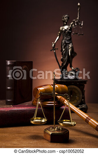 Law and justice concept - csp10052052