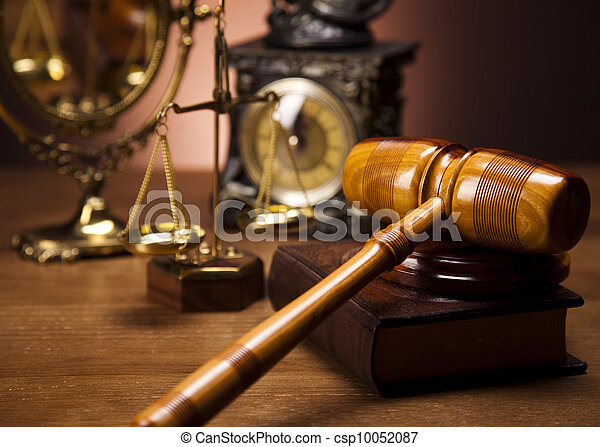 Law and justice concept - csp10052087