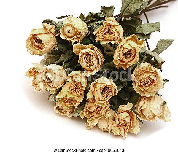 Stock de fotos de ramo secado rosas flores blanco - Como secar un ramo de rosas ...