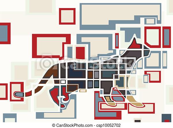 Cat blocks - csp10052702