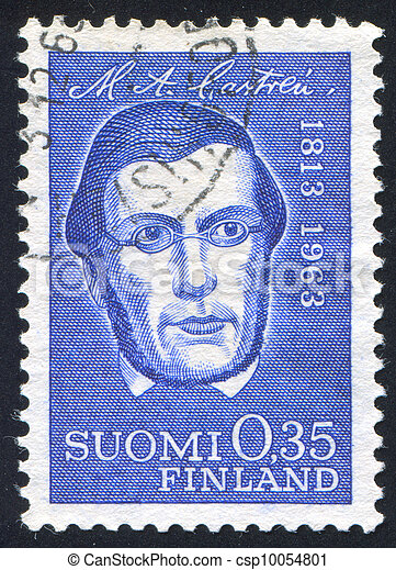 Linguist Matthias Alexander Castren - csp10054801