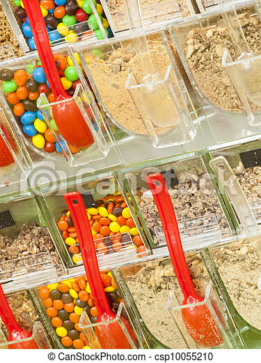 ?Frozen Yogurt Toppings - csp10055210