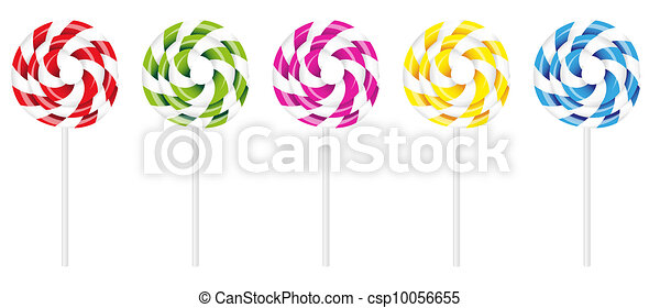 Swirly Lollipop - csp10056655