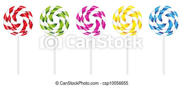 Swirly Lollipop - csp10056655
