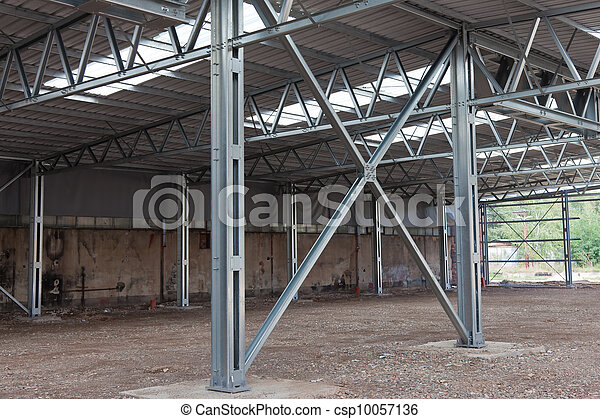 Steel Frame Structure 10057136 on Warehouse Steel Structure Building