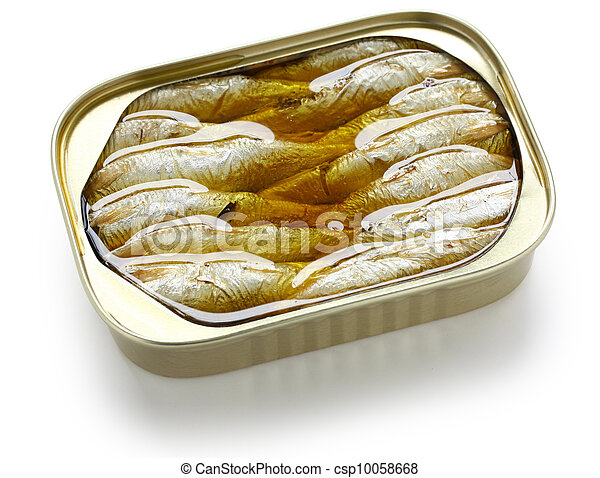 canned sardines in oil - csp10058668