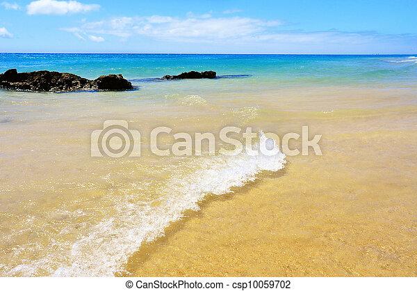 Playa Esmeralda in Fuerteventura, Canary Islands, Spain - csp10059702
