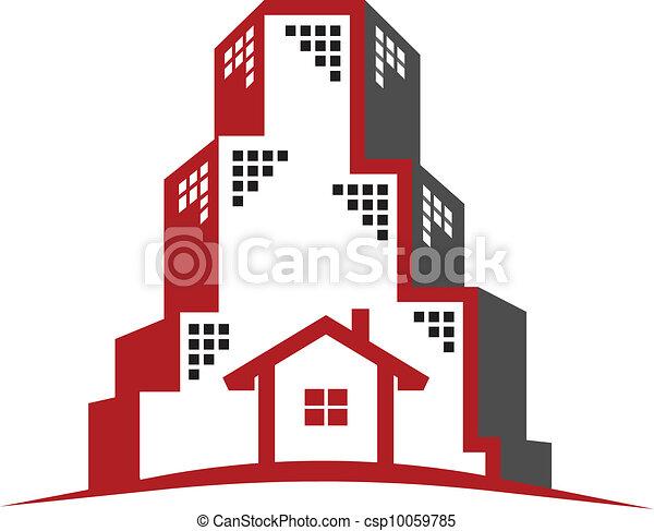 Logo  Real Estate concept  - csp10059785