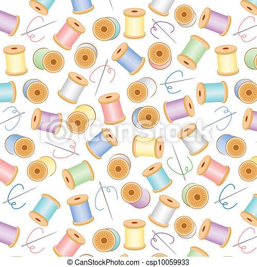 Seamless Background, Pastels - csp10059933
