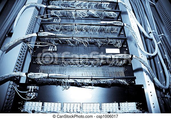 data, nätverk, centrera - csp1006017