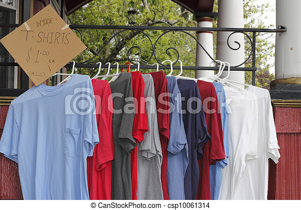 T Shirts for Sale Outdoors - csp10061314