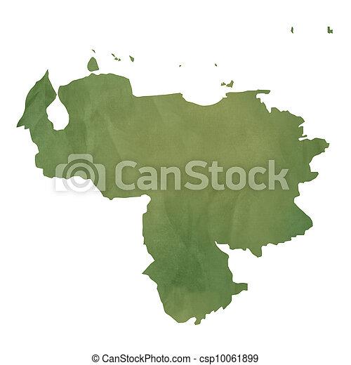 地图, 委内瑞拉